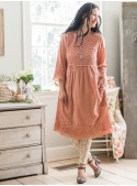 Coraline Dress in Vintage Rose | April Cornell