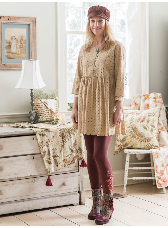 Piper Tunic in Ecru by April Cornell