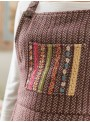 Poppy Jumper in Brown by April Cornell