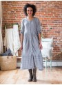 Daylily Dress in Grey by April Cornell