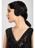 Amelia Hairpiece in Black
