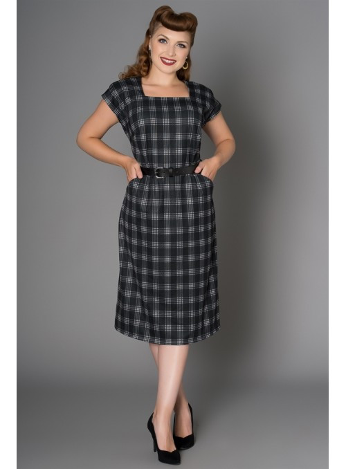Ginger Dress in Black by Sheen Clothing