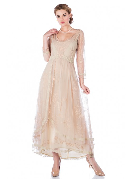 Downton Abbey Tea Party Gown in Vintage by Nataya