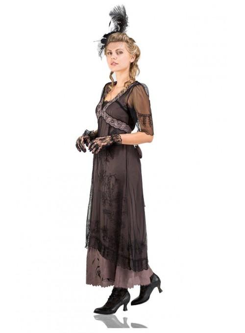 Beatrice Hand Embellished Clutch Bag in Black