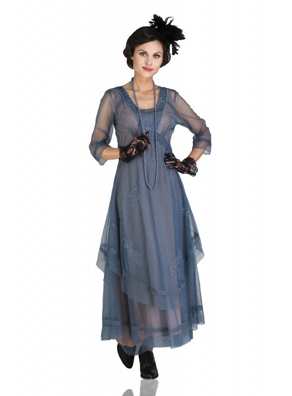 Mary Darling CL-163 Dress in Azure by Nataya