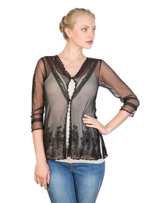 CT-591 Top in Black