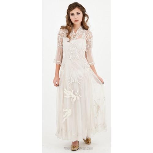 Sultry Elizabeth Wedding Dress in Ivory by Nataya
