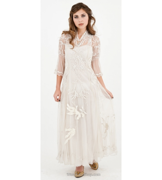 Sultry Elizabeth Wedding Dress in Ivory by Nataya - SOLD OUT