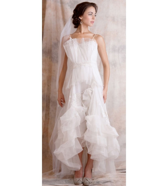 Dahlia Wedding Dress in White by Nataya - SOLD OUT