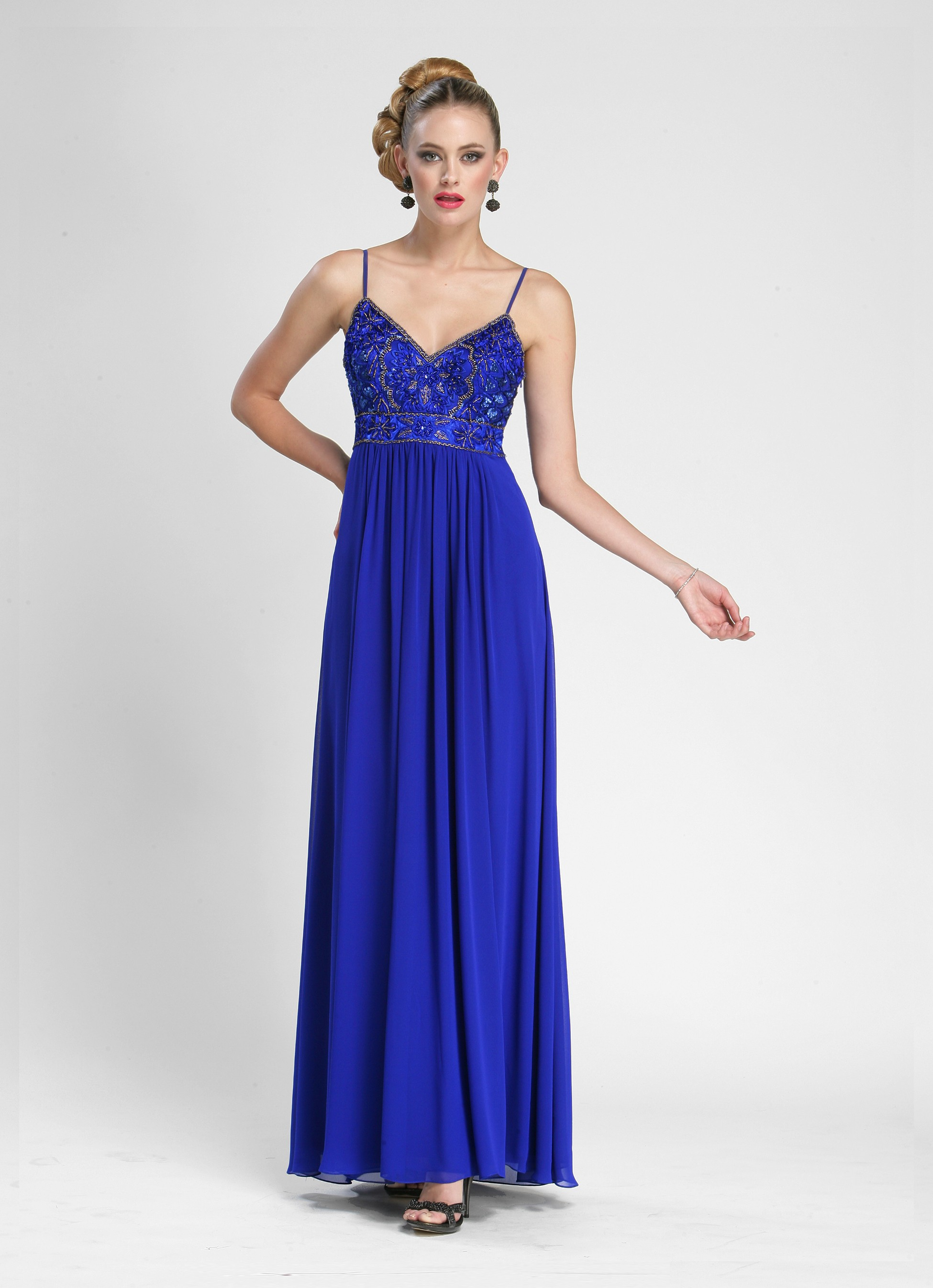 Pure Elegance at the Prom Gown N3402: Buy Sue Wong Dresses at the WS