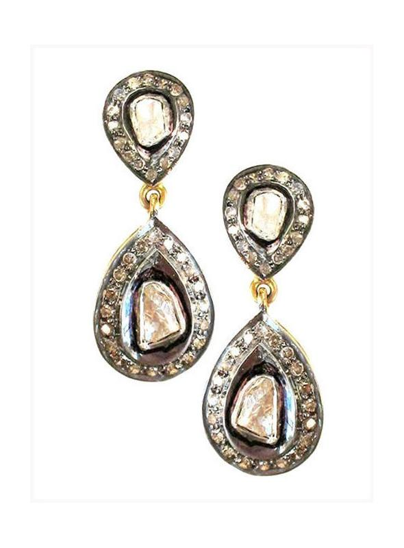 SuratKarat Victorian Polki Rose Cut Diamond - WSE29502