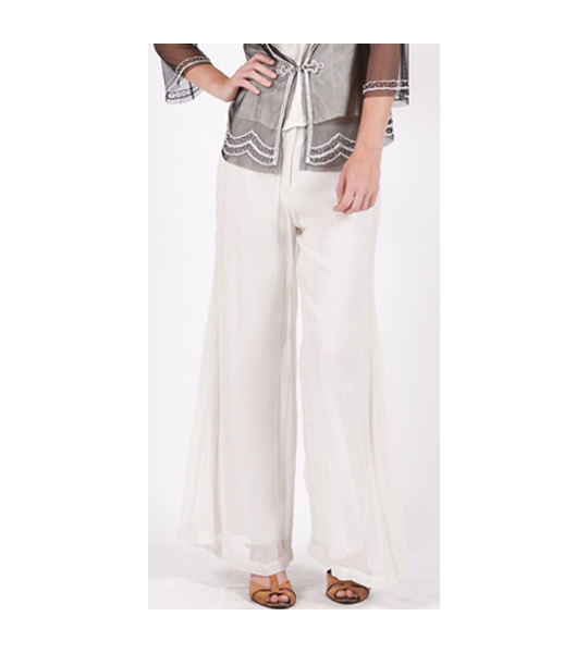 Rayon Vintage Style Palazzo Pants by Nataya - SOLD OUT