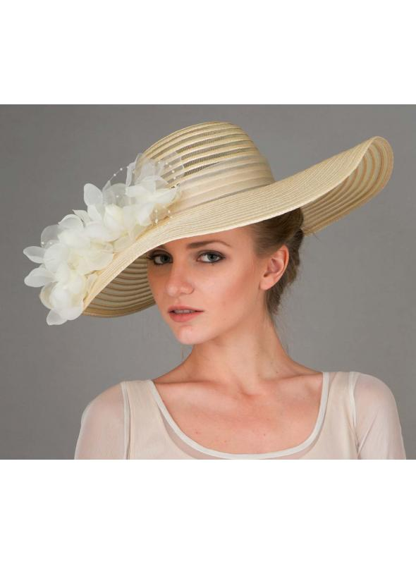 Polly Hat in Cream