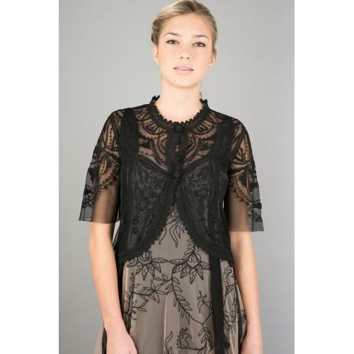 Romantic Elizabethan Vintage Style Jacket in Black by Nataya