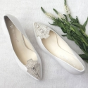 Deco Style Bridal Heels Clara - SOLD OUT