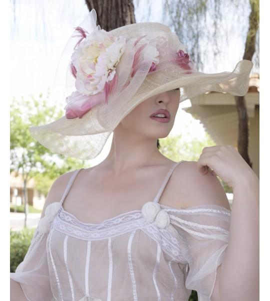 Princess Skyler Hat by Louisa Voisine Millinery