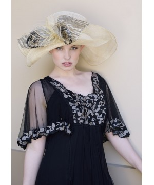 Lady Linda Hat by Louisa Voisine Millinery