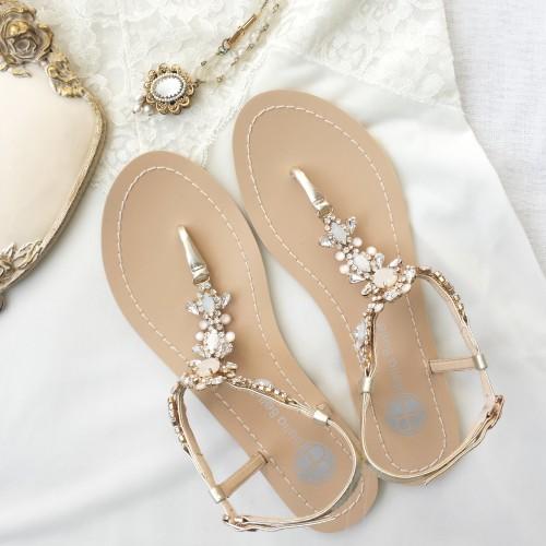 Luna Bridal Sandals