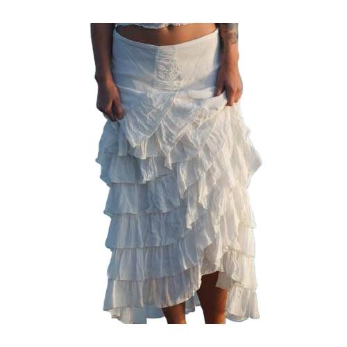 Asymmetrical Zorro Skirt by Marrika Nakk
