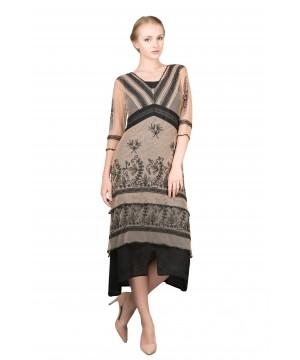 Vintage Titanic Tea Party Dress in Blush by Nataya