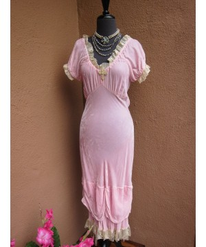 Western Style Velvet Bustier Dress by Marrika Nakk