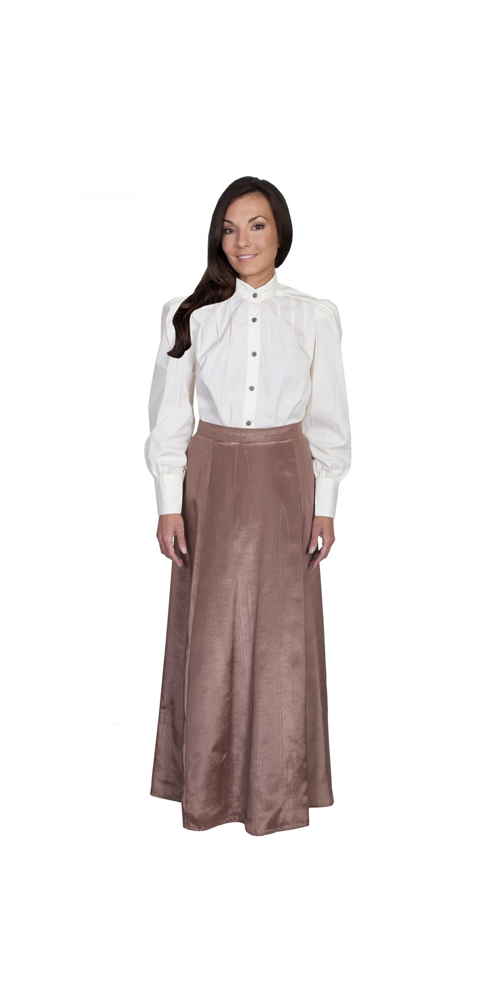 Wahmaker Victorian Style Five Gore Walking Skirt In