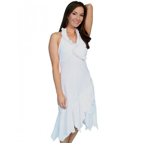 Rolling Prairie Cotton Wedding Dress in White