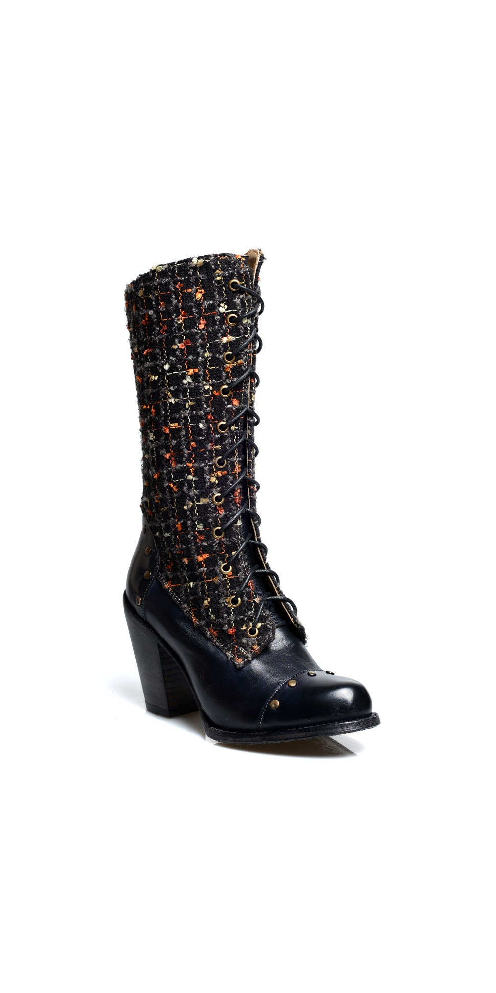 Modern Vintage Leather Mid-Calf Boots hot sale cheap online clearance footlocker obRXd