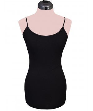 Honey Creek Spring Star Seamless Camisole in Black by Scully Leather