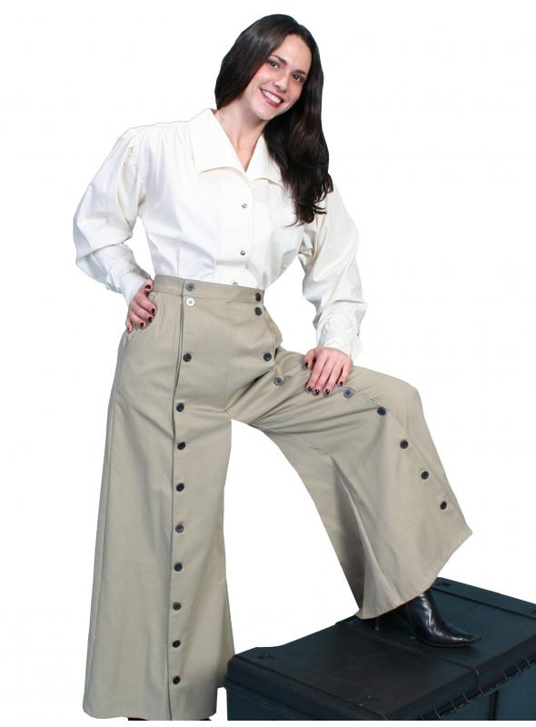 Rangewear Country Girl Riding Pants in Tan by Scully Leather
