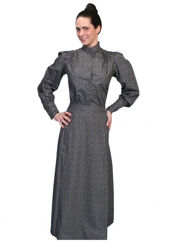 Rangewear Victorian Style Walking Skirt in Navy by Scully Leather