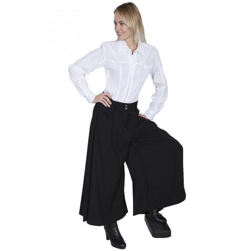Farmhouse Split Skirt in Black