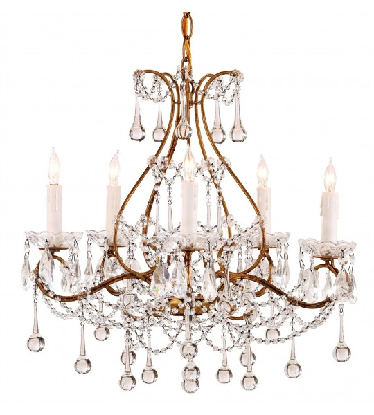 Paramour Chandelier by Currey and Company