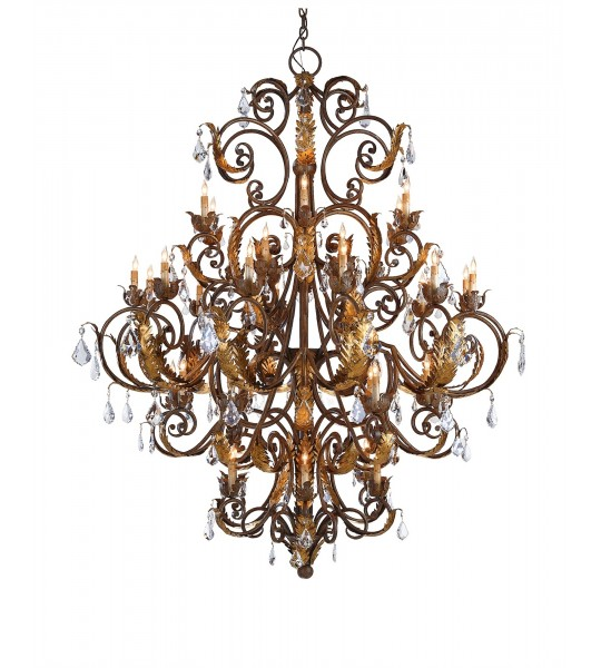 Innsbruck Chandelier by Currey and Company
