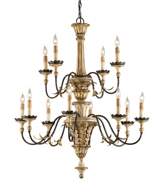Adara Chandelier by Currey and Company