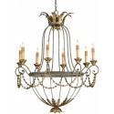 Elegance Chandelier by Currey and Company