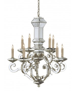 Domani Chandelier by Currey and Company