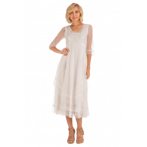 Mary Darling Dress in Ivory by Nataya