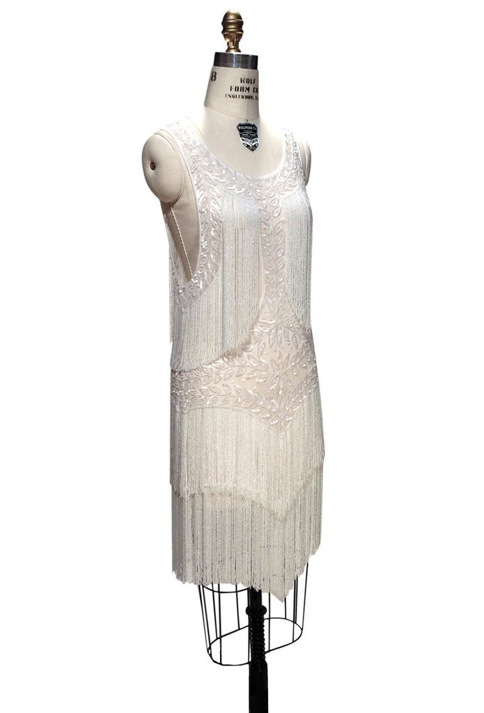 Roaring Twenties Cocktail Party Dress in Crystalline