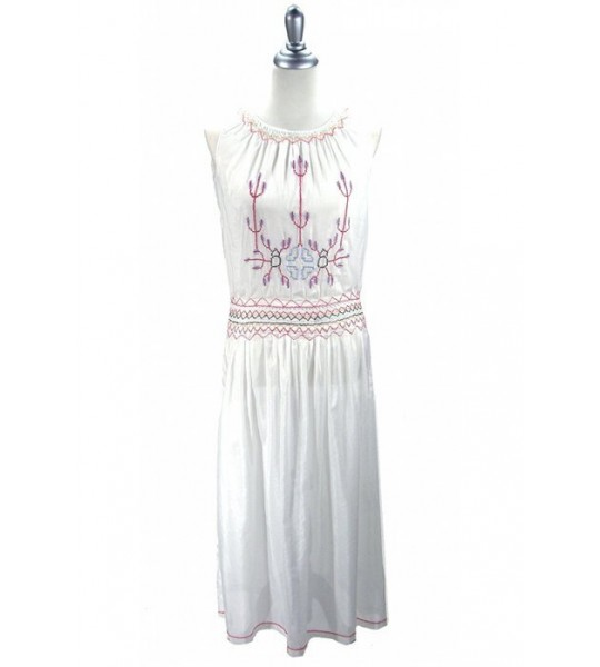 Romantic 1920s Inspired Dress in White by The Deco Haus