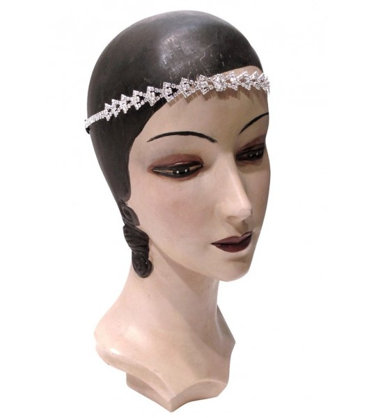 The Deco Arrow Diamante Headband by The Deco Haus