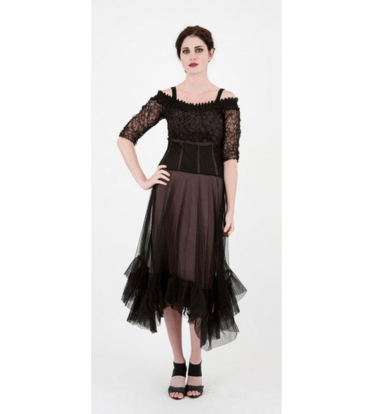 Vintage Style Cocktail Gown by Nataya - SOLD OUT