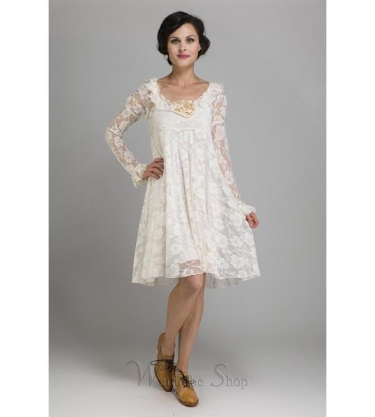 Camelot Romantic Flitry Dress by Marrika Nakk