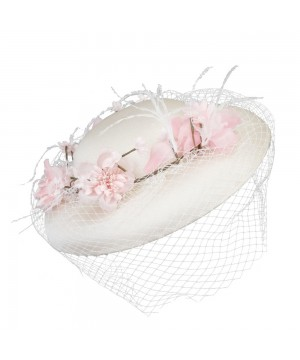 Pretty in Pink Lady Sybil Hat