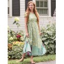 Victorian Style Tea Party Dress in Green - SOLD OUT