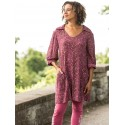 Romantic Courtyard Tunic in Purple | April Cornell - SOLD OUT