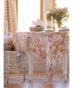 Secret Garden Tablecloth in Amethyst by April Cornell