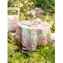Strawberry Shortcake Round Tablecloth in Sage | April Cornell - SOLD OUT