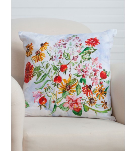 Apple Butter Cushion Cover in Multi | April Cornell