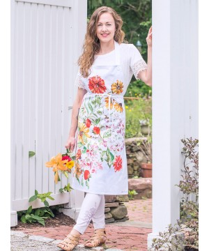 Apple Butter Apron in Multi | April Cornell